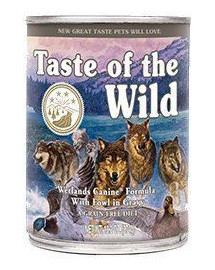 TASTE OF THE WILD Wetlands Wild Fowl 390 g