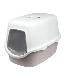 ZOLUX WC Cathy světle růžové kryté s filtrem 56x40x40cm