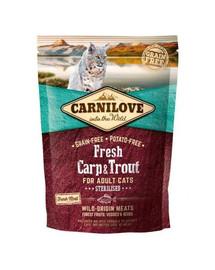 CARNILOVE Fresh Cat Carp & Trout Sterilised 400 g