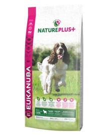 EUKANUBA Nature Plus+ Adult Medium Breed Rich in freshly frozen Lamb 2,3 kg