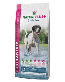 EUKANUBA Nature Plus+ Adult Grain Free Salmon 2,3 kg