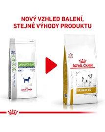 ROYAL CANIN Veterinary Health Nutrition Dog Urinary S/O Small Dog 1.5 kg