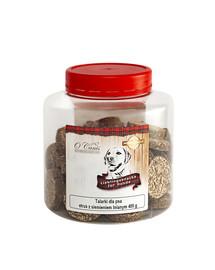 O'CANIS Kroužky Zdravé bažantí maso s ostropestřcem mariánským 400 g funkční pochoutka