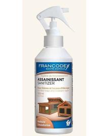 FRANCODEX Dezinfekční a osvěžující prostředek pro podestýlky a klece pro zvířata 500 ml