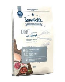BOSCH Sanabelle light Drůběží 10 kg