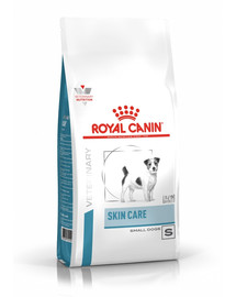 ROYAL CANIN Veterinary Health Nutrition Dog Skin Care Adult Small Dog 4 kg