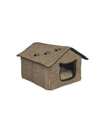 TRIXIE Domeček pro kočku 35 x 30 x 40 cm béžovo / hnědý