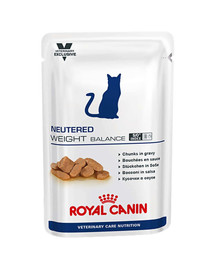 ROYAL CANIN Cat neutered weight balance kapsička 100g x12