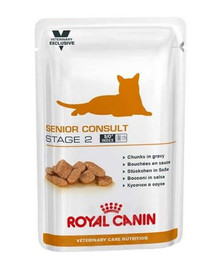 ROYAL CANIN Cat senior consult stage 2 kapsička 100 g x12