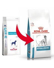 ROYAL CANIN Veterinary Health Nutrition Dog Hypoallergenic 2 kg