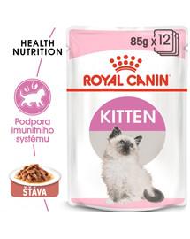 ROYAL CANIN Kitten Instinctive Gravy 85g kapsička pro koťata ve šťávě