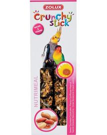 ZOLUX Crunchy Stick velké papoušky Slunečnice/burák 115 g