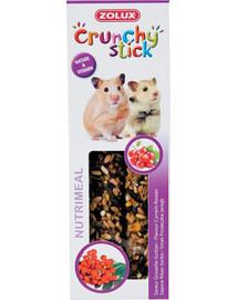 ZOLUX Crunchy Stick Křeček Rybít/jeřabina115 g