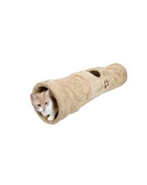 TRIXIE Tunel pro kočku 125 cm béžový