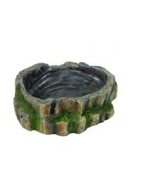 TRIXIE Terarijní miska na vodu  a krmivo pro plazy 18.5 x 4.5 x 17 cm