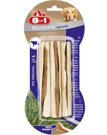 8IN1 Pamlsek Beef Delights Bone Sticks 3ks