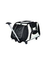 TRIXIE Vozík pro psa za kolo nylon 34 x 43 x 67 cm černo-šedý