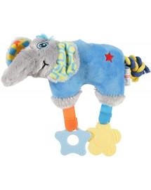 ZOLUX Slon hraček Puppy modrý