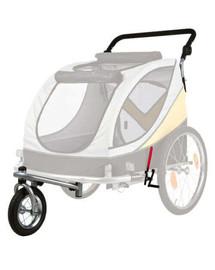 TRIXIE Přední kolo a držadlo k vozíku L, konverze na běhání