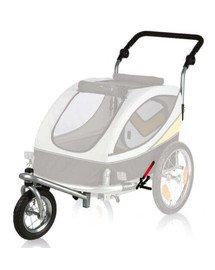 TRIXIE Sada Přední kolo a držadlo k vozíku M, konverze na běhání 12805