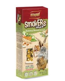 VITAPOL Smakers pro hlodavce brokolicové 2 ks