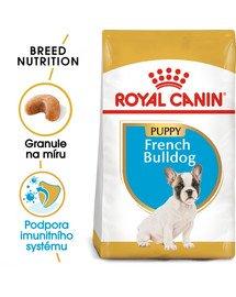 ROYAL CANIN French Bulldog Puppy 1 kg granule pro štěně francouzského buldočka