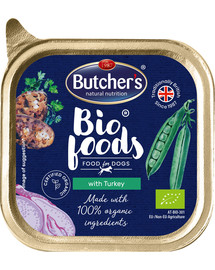 BUTCHER'S Bio s krůtou vanička 150g