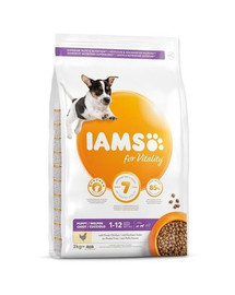 IAMS ProActive Health Puppy & Junior Small & Medium Breed Chicken 12 kg