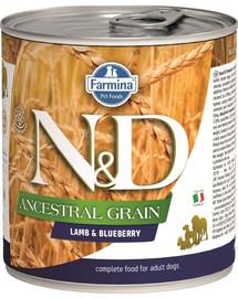 N&D Low Grain Adult Lamb & Blueberry 285g