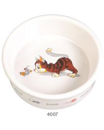 TRIXIE Miska keramická pro kočku s motivem