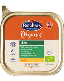 BUTCHER'S Organic Light s hovězím vanička 85g
