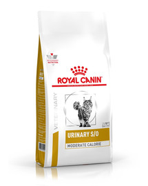 ROYAL CANIN Veterinary Health Nutrition Cat Urinary S/O Moderate Calorie 0.4 kg