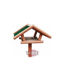 TRIXIE NATURA venkovní krmítko na stojanu 46x22x44cm/1,15m