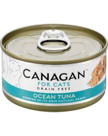 CANAGAN Cat Ocean Tuna 75g  konzerva pro kočky