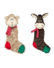 TRIXIE Vánoční Hračka pes Ovce šustící plyš 32cm