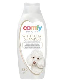 COMFY Šampon pro psy bílá srst 330 ml
