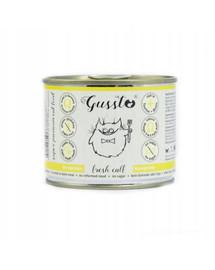 GUSSTO Cat Fresh Calf čerstvé telecí 200g