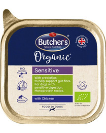 BUTCHER'S Organic Sensitive s kuřecím 150 g