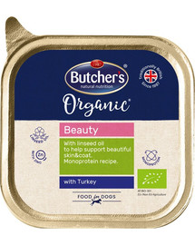 BUTCHER'S Dog Organic Beauty s krůtím 150 g