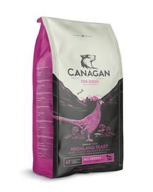 CANAGAN Dog Highland Feast 12 kg