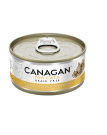 CANAGAN Cat Tuna with Chicken 75 g tuňák a kuře