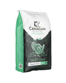 CANAGAN Dog Small Breed Dental Free Run Turkey 2 kg