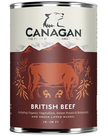 CANAGAN Dog British beef britské hovězí 400 g