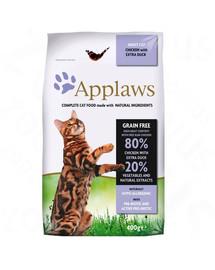 APPLAWS Cat Adult Chicken & Duck 2 kg krmivo pro dospělé kočky