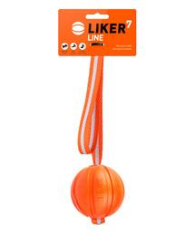 LIKER LINE Míček pro psy s popruhem 7 cm
