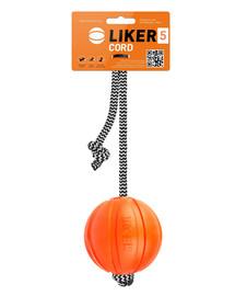 LIKER Collar Cord Míč s provazem 9 cm