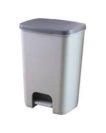 CURVER Koš odpadkový Curver ESSENTIALS 40l šedý