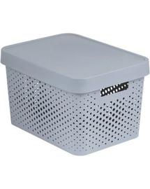 CURVER BOX INFINITY DOTS 17L šedá