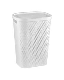 CURVER Koš na špinavé prádlo INFINITY 59 l bílý