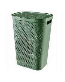 CURVER Koš na špinavé prádlo INFINITY 59L recyklovaný plast zelený
